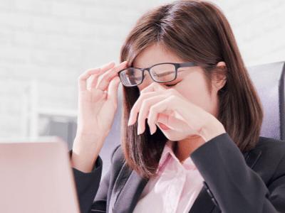 眼瞼下垂後に起こる視力低下